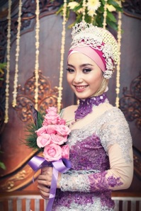 Me in purple wedding dress ;)