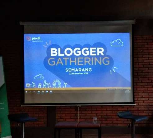 blogger gathering paxel